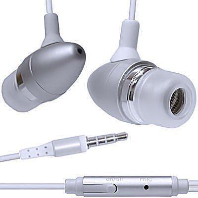 iPad Oordopjes In Ear Zilver