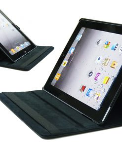 iPad Lederen 360 Cover zwart