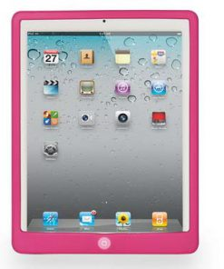 iPad Siliconen Case Roze
