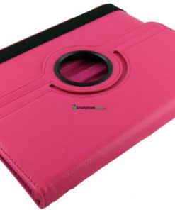 iPad Lederen 360 Hoes Roze