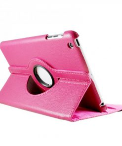 iPad Mini Lederen 360 Cover Roze