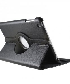 iPad Mini Lederen 360 Cover Zwart