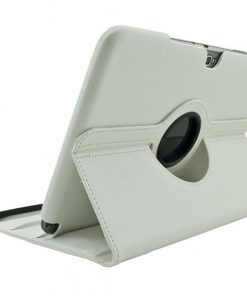 Samsung Galaxy Note 10.1 Lederen 360 Case Wit