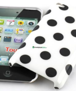 IPod Touch 4G Polka Dot Hoesje Wit
