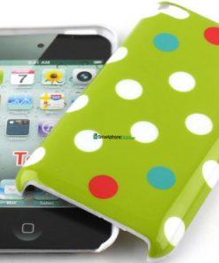 IPod Touch 4G Polka Dot Hoesje Groen mixed