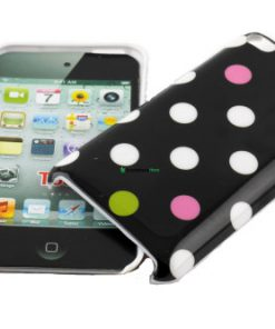 IPod Touch 4G Polka Dot Hoesje Zwart mixed