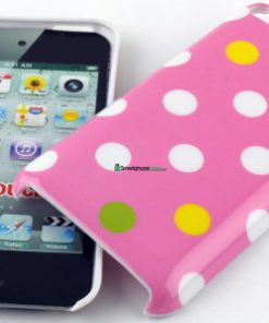 IPod Touch 4G Polka Dot Hoesje Roze mixed