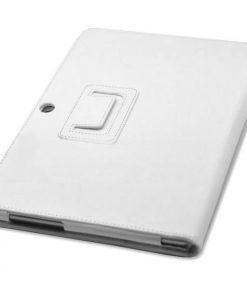 Samsung Galaxy Tab 3 10.1 Wit PU-lederen Stand Case