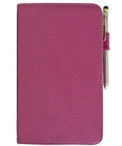 Samsung Galaxy Tab 3 7.0 Lederen Stand Case Roze