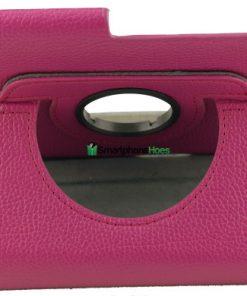Samsung Galaxy Tab 2 7.0 PU-Lederen 360 Case Roze