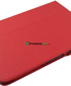 Samsung Galaxy Tab 3 10.1 Rode PU-Lederen Stand Case