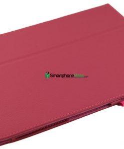 Samsung Galaxy Tab 3 10.1 Roze PU-Lederen Stand Case