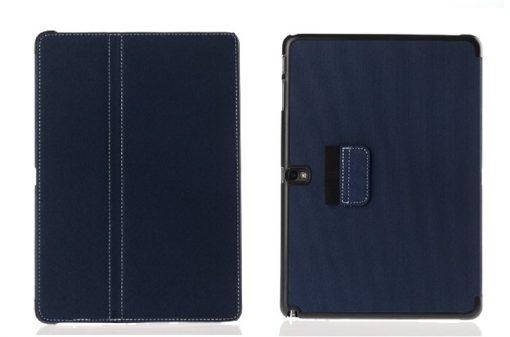Samsung Galaxy Note 10.1 2014 Flip Case Blauw