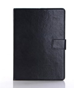 iPad Air Leren Wallet Stand Case Zwart