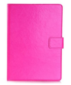 iPad Air Leren Wallet Stand Case Roze
