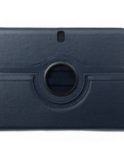 Samsung Galaxy Note 10.1 2014 Lederen 360 Cover Blauw