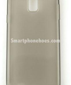 Samsung Galaxy Note 3 Hoesje Transparant Zwart