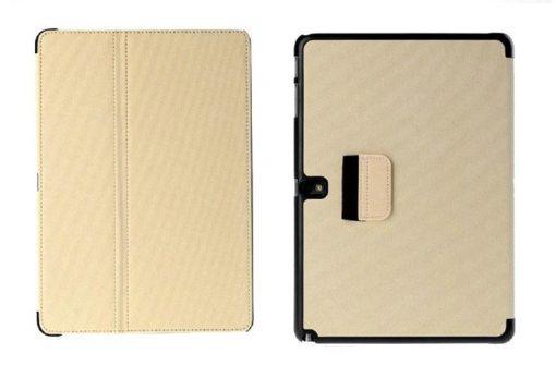 Samsung Galaxy Note 10.1 2014 Flip Case Creme