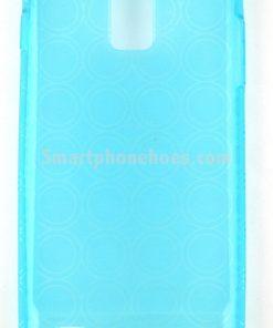 Samsung Galaxy Note 3 Hoesje Transparant Blauw