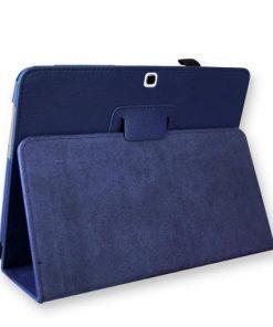 Samsung Galaxy Tab 3 10.1 Blauwe PU-Lederen Stand Hoes
