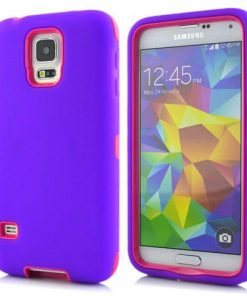Samsung Galaxy S5 Combo Hoesje Paars