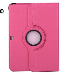 Samsung Galaxy Tab 4 10.1 PU-Lederen 360 Cover Roze