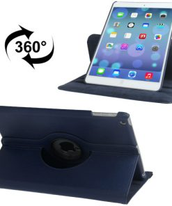 iPad Air Lederen 360 Cover Blauw