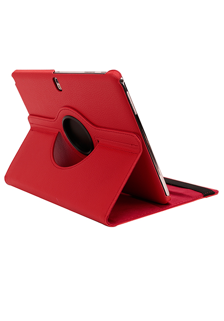 Samsung Galaxy Note 10.1 2014 Lederen 360 Cover Rood.
