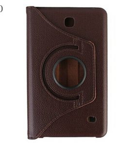 Samsung Galaxy Tab 4 7.0 PU-Lederen 360 Cover Bruin