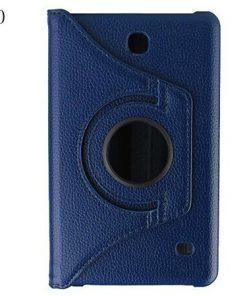 Samsung Galaxy Tab 4 7.0 PU-Lederen 360 Cover Blauw