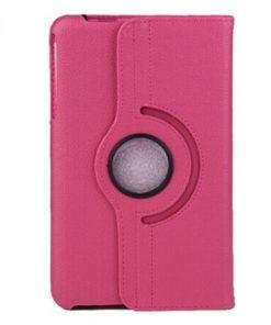Samsung Galaxy Tab 4 8.0 PU-Lederen 360 Cover Roze