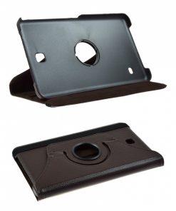 Samsung Galaxy Tab 4 8.0 PU-Lederen 360 Cover Bruin.