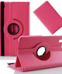 Samsung Galaxy Tab Pro 8.4 PU-Lederen 360 Cover Roze