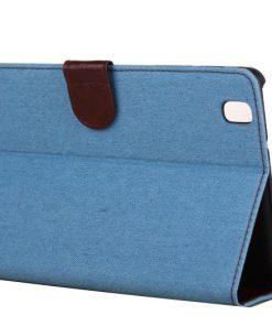 Samsung Galaxy Tab Pro 8.4 Case Jeans Style Licht Blauw
