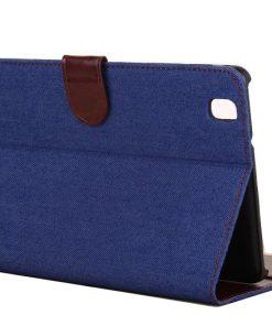 Samsung Galaxy Tab Pro 8.4 Case Jeans Style Blauw