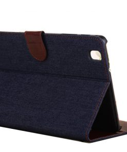 Samsung Galaxy Tab Pro 8.4 Case Jeans Style Donker Blauw.