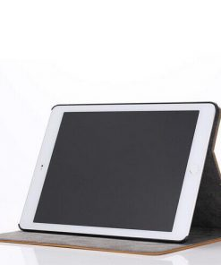 iPad Air 2 Cover Suede Zwart.