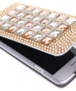 iPhone 6 glazen flipcase hoes