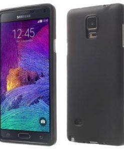Samsung Galaxy Note 4 Hoesje TPU Zwart
