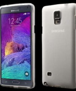 Samsung Galaxy Note 4 Hoesje TPU Transparant