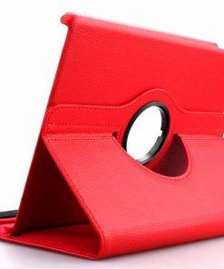 iPad Air 2 Pu-Lederen 360 Cover Rood.