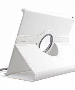 iPad Air 2 Pu-Lederen 360 Cover Wit.