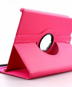 iPad Air 2 Pu-Lederen 360 Cover Roze.