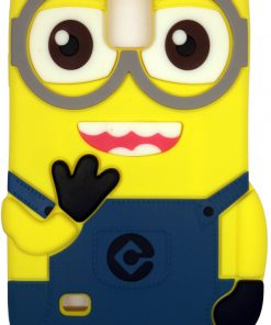 Samsung Galaxy Note 4 Hoesje Despicable Me Donker Blauw