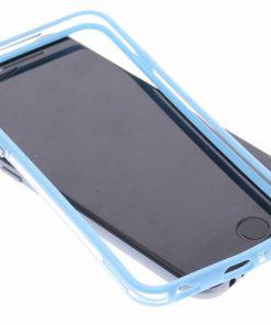 iPhone 6 Tranparante lichtblauwe bumper