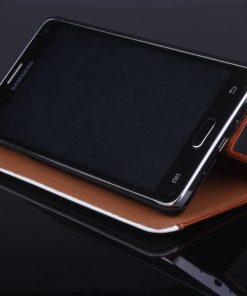Samsung Galaxy Note 4 Flip Case Bruin.