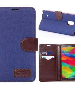 Samsung Galaxy Note 4 Jeans Style Blauw