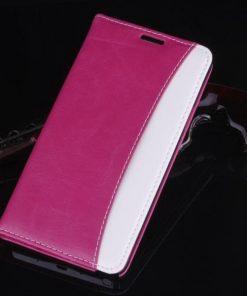 Samsung Galaxy Note 4 Flip Case Roze.