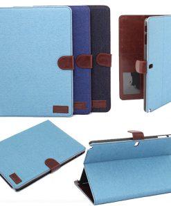 Samsung Galaxy Note 10.1 2014 Jeans Style Licht Blauw