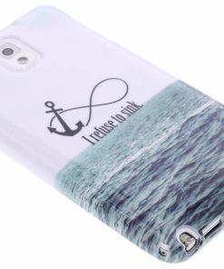 Samsung Galaxy Note 3 Anker design TPU siliconen hoesje